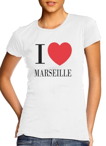 I love Marseille for Women's Classic T-Shirt
