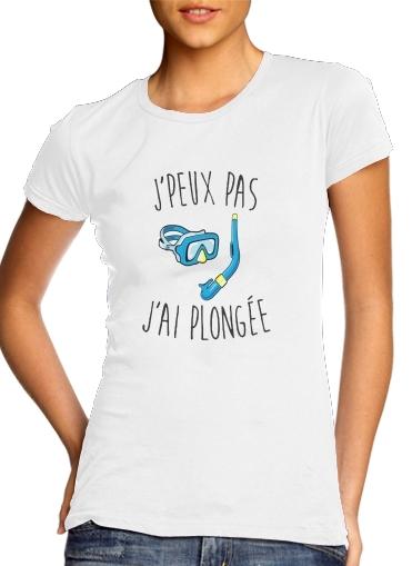 T-Shirts Je peux pas jai plongee