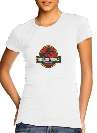 woment Jurassic park Lost World TREX Dinosaure T-Shirts