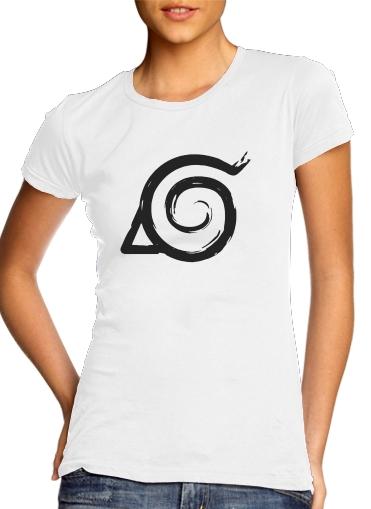 T-Shirts Konoha Symbol Grunge art