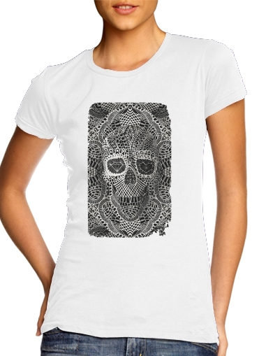 Lace Skull for Women's Classic T-Shirt