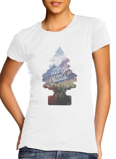 Let's go outside for Women's Classic T-Shirt