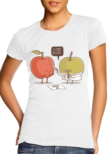 woment Famous Apple T-Shirts