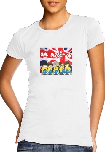 Minions mashup One Direction 1D for Women's Classic T-Shirt