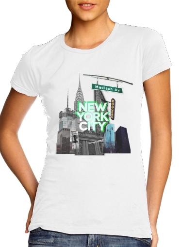 T-Shirts New York City II [green]
