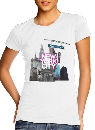 woment New York City II [pink] T-Shirts