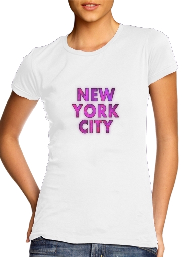 New York City - Broadway Color for Women's Classic T-Shirt