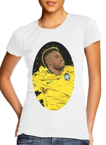 woment Neymar Carioca Paris T-Shirts