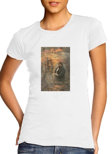 woment Outlander Collage T-Shirts