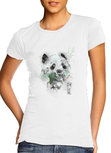 T-Shirts Panda Watercolor