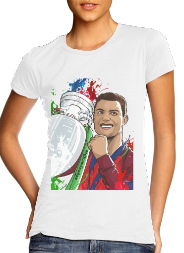 Portugal Campeoes da Europa for Women's Classic T-Shirt