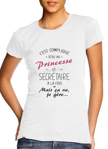 T-Shirts Princesse et secretaire