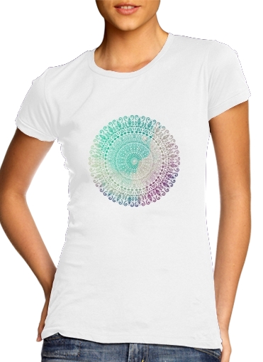 T-Shirts RAINBOW CHIC MANDALA