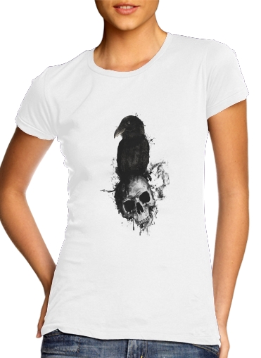 Raven and Skull for Women's Classic T-Shirt