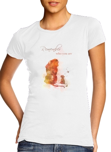 Remember Who You Are Lion King for Women's Classic T-Shirt