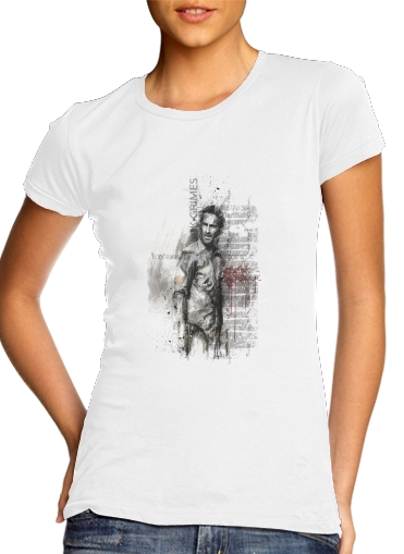 Grunge Rick Grimes Twd for Women's Classic T-Shirt