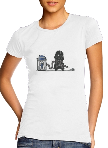 woment Robotic Hoover T-Shirts