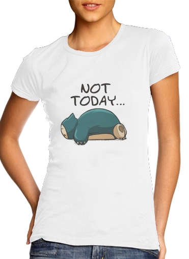 Ronflex Not Today pokemon for Women's Classic T-Shirt