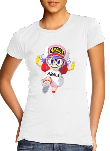 T-Shirts Run Arale Norimaki
