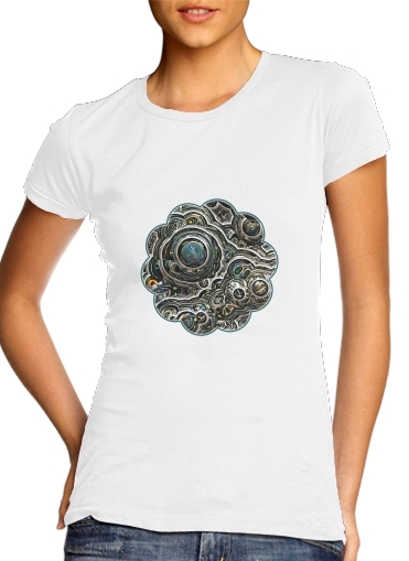 Silver glitter bubble cells for Women's Classic T-Shirt