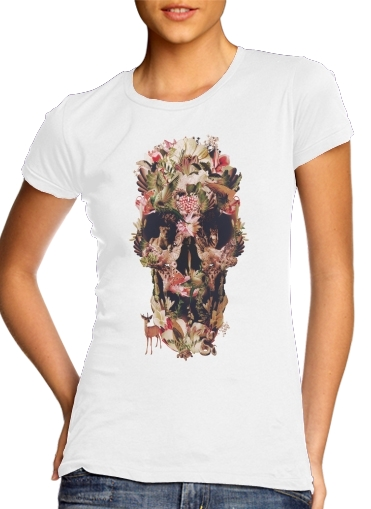 woment Skull Jungle T-Shirts
