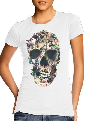 Skull Vintage for Women's Classic T-Shirt