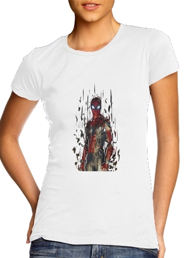 woment Spiderman Poly T-Shirts