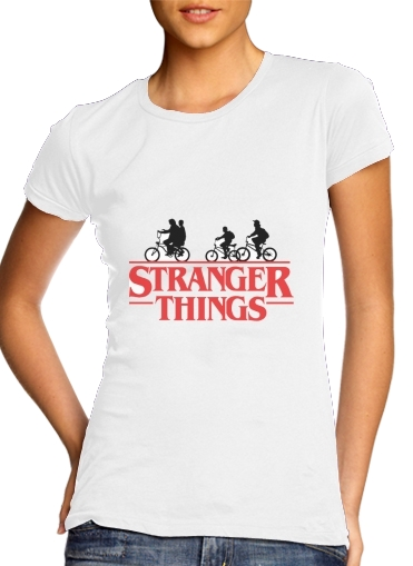 T-Shirts Stranger Things by bike