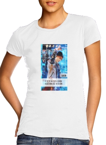 woment Suga BTS Kpop T-Shirts