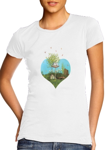 Summer Feeling Birds for Women's Classic T-Shirt