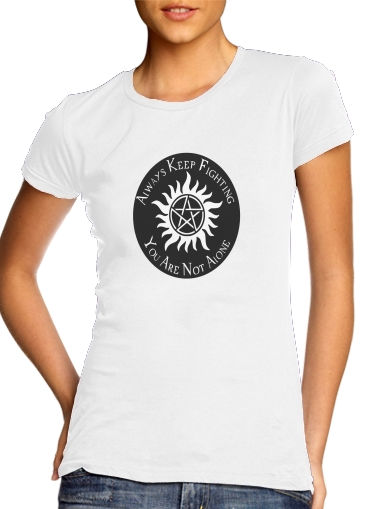 SuperNatural Never Alone for Women's Classic T-Shirt