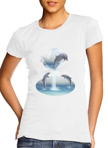 The Heart Of The Dolphins for Women's Classic T-Shirt