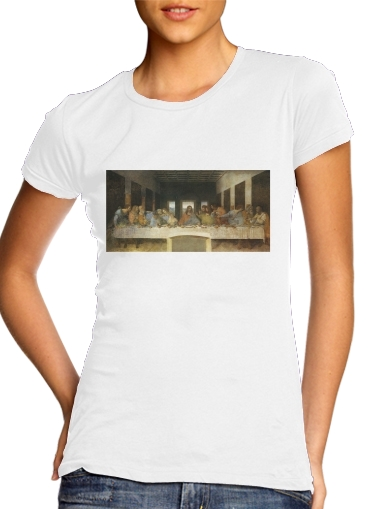 woment The Last Supper Da Vinci T-Shirts