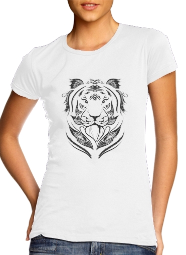 Tiger Feather for Women's Classic T-Shirt