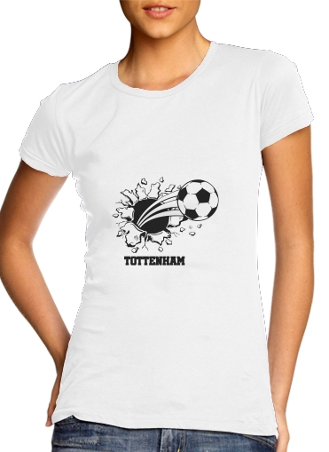 Tottenham Football Home Shirt for Women's Classic T-Shirt