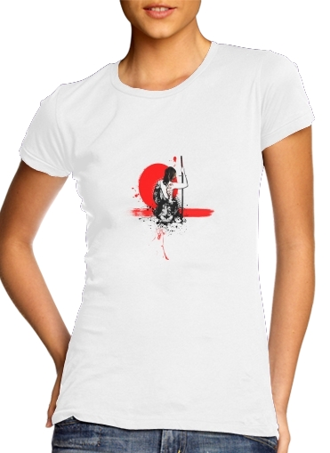woment Trash Polka - Female Samurai T-Shirts