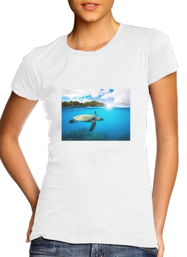 Tropical Paradise for Women's Classic T-Shirt