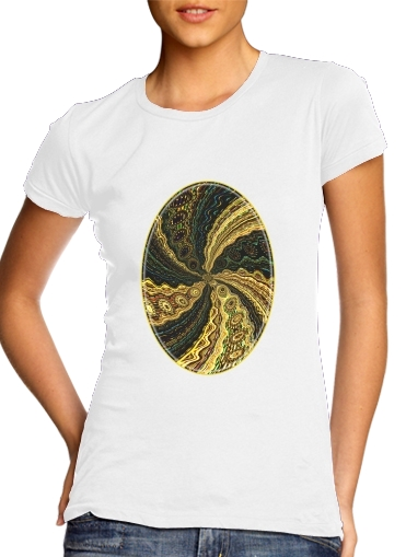 Twirl and Twist black and gold for Women's Classic T-Shirt