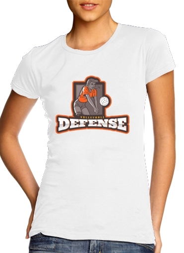 woment Volleyball Defense T-Shirts