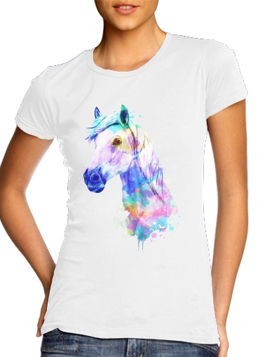 T-Shirts watercolor horse