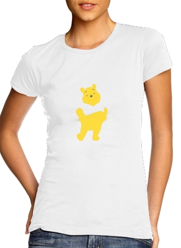woment Winnie The pooh Abstract T-Shirts