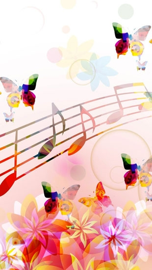 Musical Notes Butterflies for