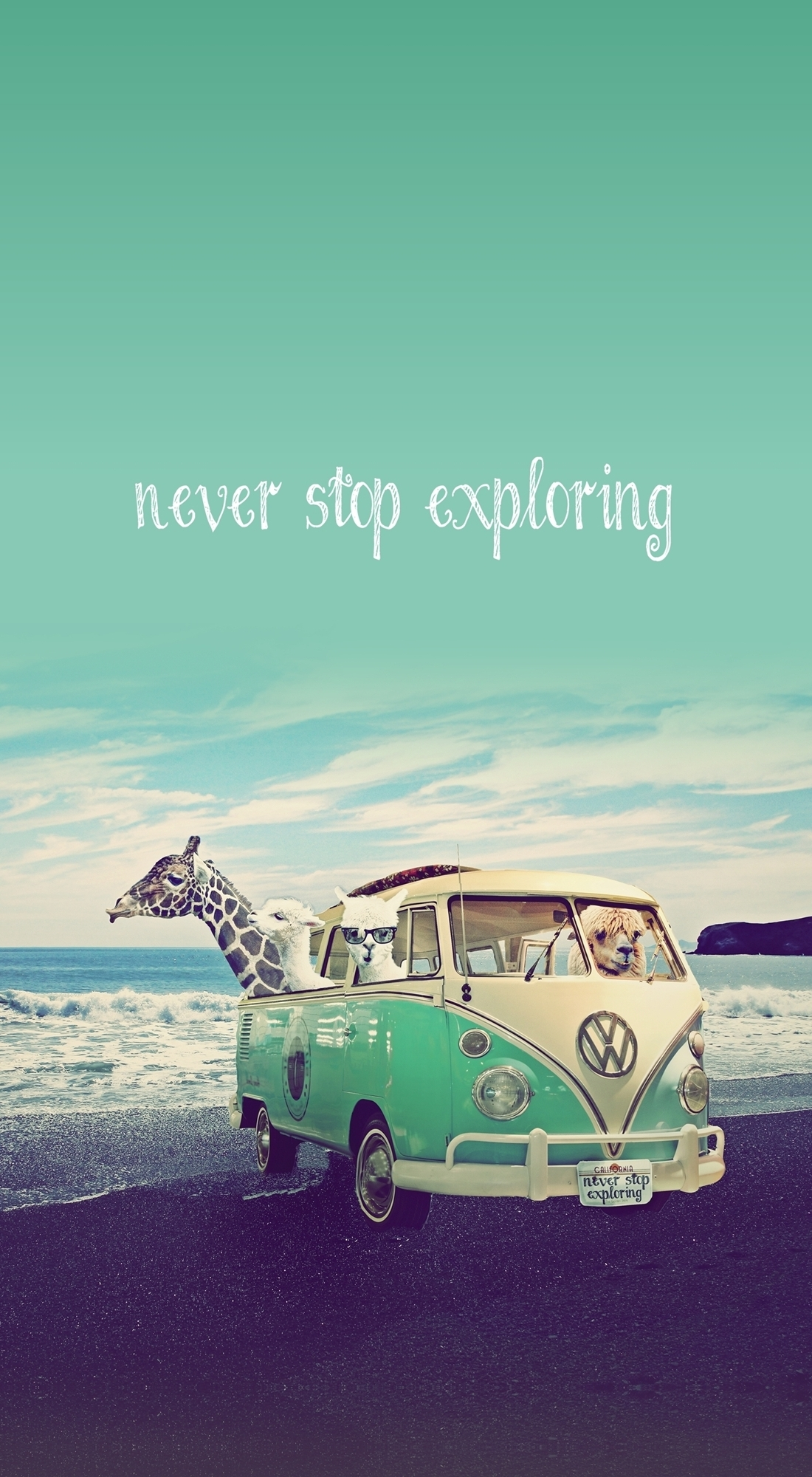 Never Stop Exploring - Lamas on Holidays Case for