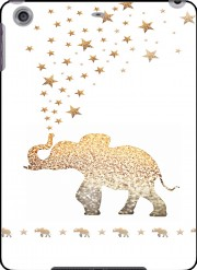 Gatsby Gold Glitter Elephant Case for Ipad Air 2