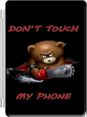 Case Don't touch my phone for Ipad Pro 9.7 pouces