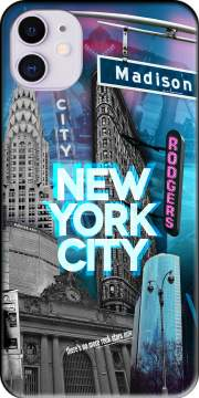 New York City II [blue] Case for iPhone 11
