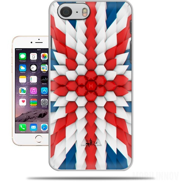 Case 3D Poly Union Jack London flag for Iphone 6 4.7