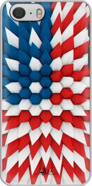 3D Poly USA flag Case for Iphone 6 4.7