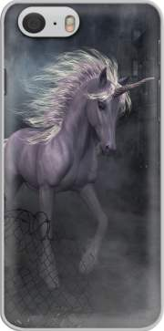 A dreamlike Unicorn walking through a destroyed city Iphone 6 4.7 Case