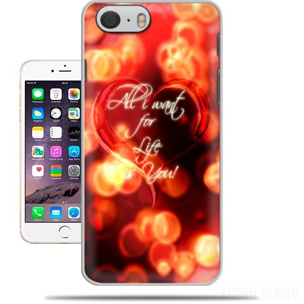 Case All i want for life is you for Iphone 6 4.7